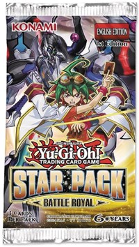 50 packs Battle Royal Booster Display Box Yugioh Star Pack Factory Sealed