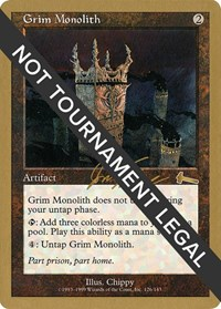 Grim Monolith - 2000 Jon Finkel (ULG)