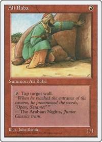 Ali Baba, Magic: The Gathering, Fourth Edition