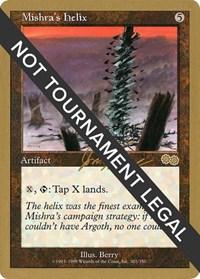 Mishra's Helix - 2000 Jon Finkel (USG), Magic: The Gathering, World Championship Decks