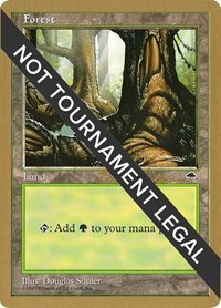 Forest (Pond) - 1998 Brian Selden (TMP), Magic: The Gathering, World Championship Decks