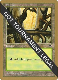 Forest (Ledge) - 1998 Brian Selden (TMP), Magic: The Gathering, World Championship Decks