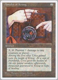 Amulet of Kroog, Magic: The Gathering, Fourth Edition