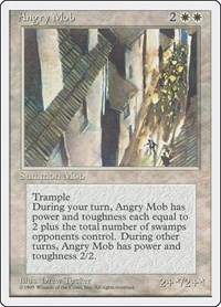 Angry Mob, Magic: The Gathering, Fourth Edition