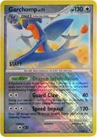Garchomp - 5/147 (Championship Promo) [Staff], Pokemon, League & Championship Cards