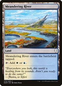 Meandering River, Magic: The Gathering, Dominaria