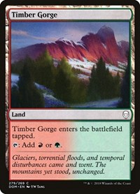 Timber Gorge, Magic: The Gathering, Dominaria