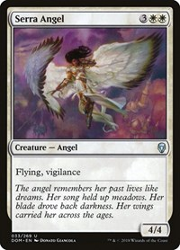 Serra Angel, Magic: The Gathering, Dominaria