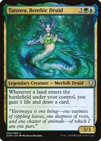 Tatyova, Benthic Druid, Magic: The Gathering, Dominaria