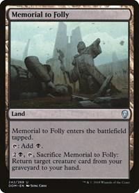 Memorial to Folly, Magic: The Gathering, Dominaria