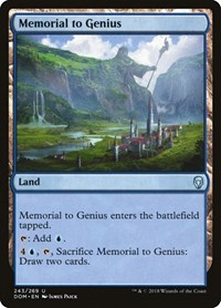 Memorial to Genius, Magic: The Gathering, Dominaria