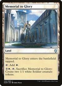 Memorial to Glory, Magic, Dominaria