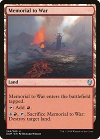 Memorial to War, Magic, Dominaria