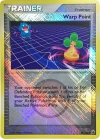 Warp Point (League Promo), Pokemon, League & Championship Cards