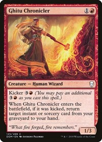 Ghitu Chronicler, Magic, Dominaria