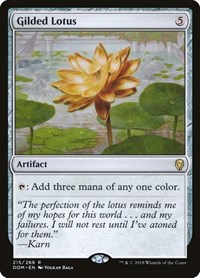 Gilded Lotus, Magic: The Gathering, Dominaria