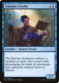 Tolarian Scholar, Magic: The Gathering, Dominaria