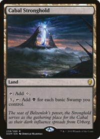 Cabal Stronghold, Magic: The Gathering, Dominaria