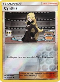 Cynthia - 119/156 (Regional Championship Promo), Pokemon, League & Championship Cards