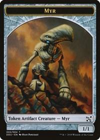 Myr Token, Magic: The Gathering, Duel Decks: Elves vs. Inventors
