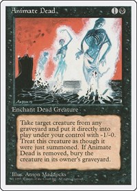 Animate Dead, Magic: The Gathering, Fourth Edition