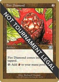 Fire Diamond - 1999 Kai Budde (6ED), Magic: The Gathering, World Championship Decks