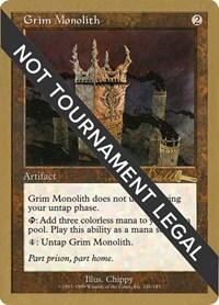 Grim Monolith - 1999 Kai Budde (ULG)