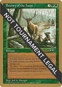 Bounty of the Hunt - 1997 Svend Geertsen (ALL) (SB), Magic: The Gathering, World Championship Decks