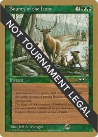 Bounty of the Hunt - 1997 Svend Geertsen (ALL), Magic: The Gathering, World Championship Decks
