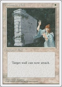 Animate Wall, Magic: The Gathering, Fourth Edition