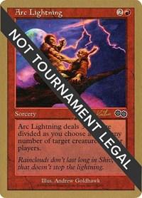 Arc Lightning - 2000 Janosch Kuhn (USG), Magic: The Gathering, World Championship Decks