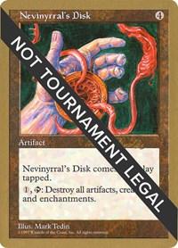 Nevinyrral's Disk - 1998 Randy Buehler (5ED), Magic: The Gathering, World Championship Decks