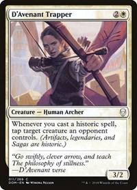 D'Avenant Trapper, Magic: The Gathering, Dominaria