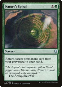 Nature's Spiral, Magic: The Gathering, Dominaria
