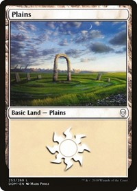 Plains (253), Magic, Dominaria
