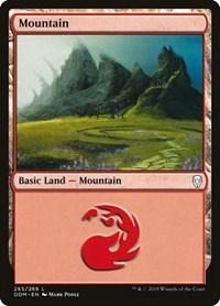 Mountain (265), Magic: The Gathering, Dominaria