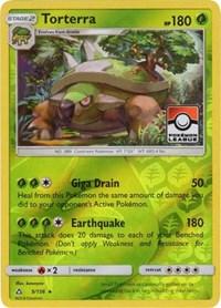 Torterra - 9/156 (League Promo), Pokemon, League & Championship Cards