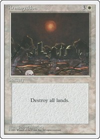 Armageddon, Magic: The Gathering, Fourth Edition