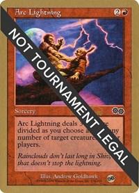 Arc Lightning - 1999 Mark Le Pine (USG), Magic: The Gathering, World Championship Decks