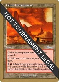 Ghitu Encampment - 1999 Mark Le Pine (ULG), Magic: The Gathering, World Championship Decks
