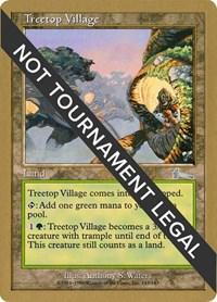 Treetop Village - 1999 Matt Linde (ULG), Magic: The Gathering, World Championship Decks