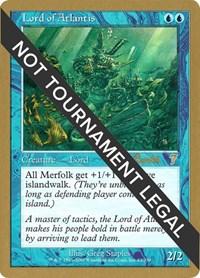 Lord of Atlantis - 2001 Alex Borteh (7ED), Magic: The Gathering, World Championship Decks