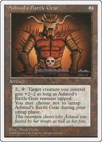 Ashnod's Battle Gear, Magic: The Gathering, Fourth Edition