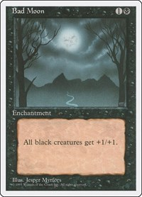 Bad Moon, Magic: The Gathering, Fourth Edition