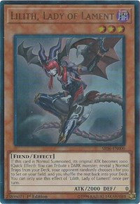Lilith, Lady of Lament, YuGiOh, Structure Deck: Lair of Darkness