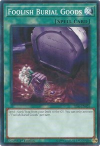 Foolish Burial Goods, YuGiOh, Structure Deck: Lair of Darkness