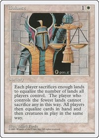 Balance, Magic: The Gathering, Fourth Edition