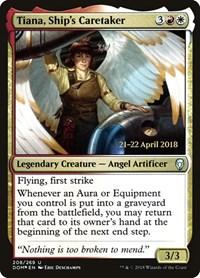 Tiana, Ship's Caretaker, Magic: The Gathering, Prerelease Cards