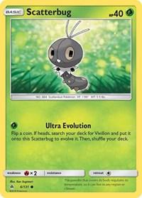 Scatterbug (6), Pokemon, SM - Forbidden Light