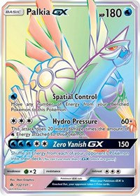 Palkia GX (Secret), Pokemon, SM - Forbidden Light
